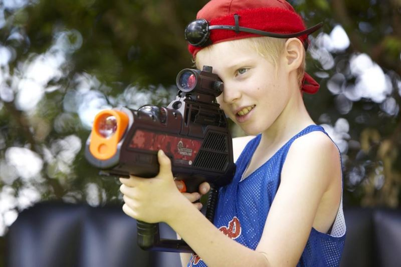 Hire Laser Tag In A Box for Holiday activity programmes and Summer camps